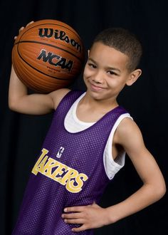 youth basketball portraits