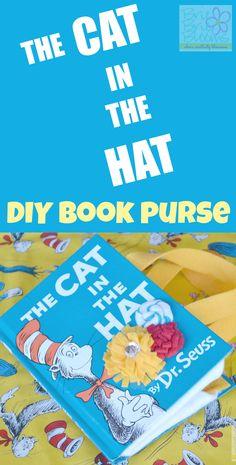 The Cat in the Hat DIY book purse