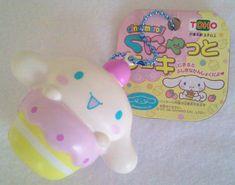 Sanrio Cinnamoroll Squishy Keychain by KawaiiPlushies on Etsy useless thing, squishi keychain, ultra rare, cupcak squishi, rare cinammorol