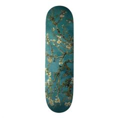 Skateboard: Branches with Almond Blossoms by Vincent Van Gogh