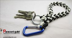 Paracord key lanyard tutorial.