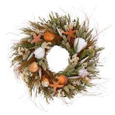 Gilligan's Island Autumn Shell Wreath