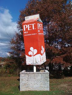 Very Old Pet Milk Carton sign ...Mount Airy, NC
