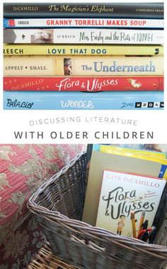 Great tips on discussing books with the older readers in our lives...