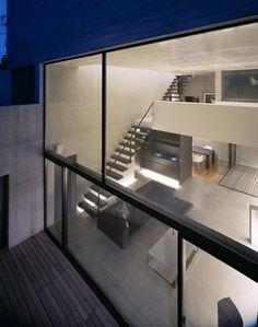 blurring inside + outside - Mejiro House | MDS