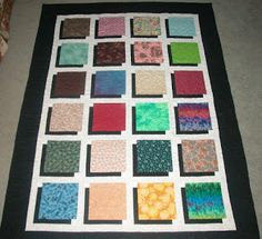 MaDan's Quilting: Shadow Box Tutorial