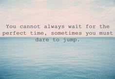 dare to jump #inspire