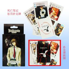 Death note Characters Playing Cards mix order NN437(China (Mainland