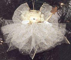 #angel, white, pretty, tulle, harmony, #Christmas tree decoration, tulle - #Engel, weiß, hübsch, Harmonie, #Weihnachtsbaumdekoration, Tüll