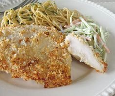 Kittencal's Easy and Delicious Ranch-Parmesan Chicken. Photo by Calee