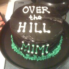 Over the hill homemade cake