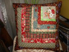 pillow from scraps