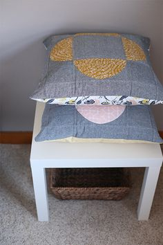Quilted cushions - t