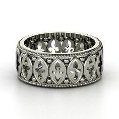 Cathedral Band, Palladium Ring from Gemvara
