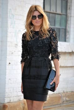 fashion weeks, outfit, street styles, cocktail dresses, 20s style, street style fashion, little black dresses, cocktails, lace dresses