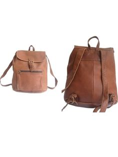 LEATHER RUCKSACK  XL by lesclodettes on Etsy, $149.00