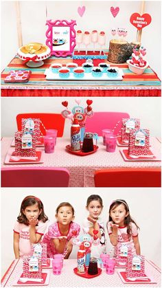 Valentine's Party Ideas for Breakfast!