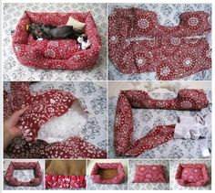 DIY bed for your pet