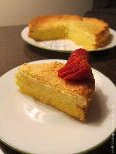 Red + Black Apron •  Japanese Cheesecake