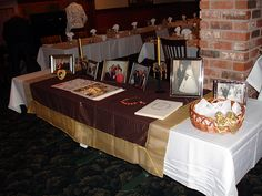 50th anniversary memory table