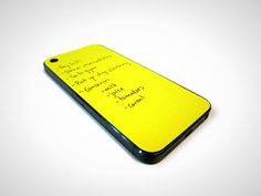 Sticky notes for your iPhone? Genius!