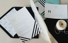 Modern-Black-White-Wedding-Invitations