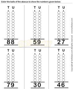 Abacus6 - math Worksheets - preschool Worksheets