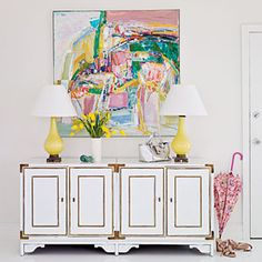 25 Creative Ways to Display Your Art | 1. Play With Color | CoastalLiving.com