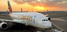 Emirates Airbus A380s