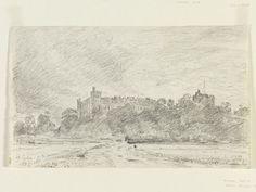 Arundel Castle, John Constable, 1834