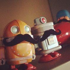 #Brandirized Robots!