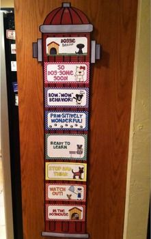 CUTEST Dog themed clip chart ever!!!