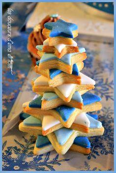 Biscuits citronnés de Noël