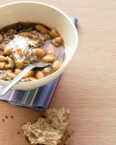 15-Minute White Bean Soup Recipe