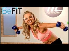 Tracey Mallett: Booty Barre | Sculpted Arms Workout - YouTube  LOVE