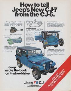 Jeep CJ-7 Ad (1976)