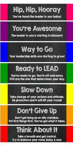 Leader in Me 7 Habits Clip Chart to encourage positive behavior and actions.