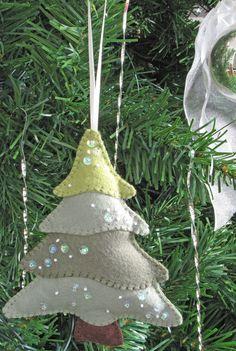 Felt Christmas Ornaments