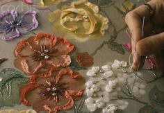 I ❤ beadwork & ribbon embroidery . . . ~By Melisin El İşi Dünyası