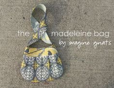 sew: madeleine bag free pattern and tutorial || imagine gnats