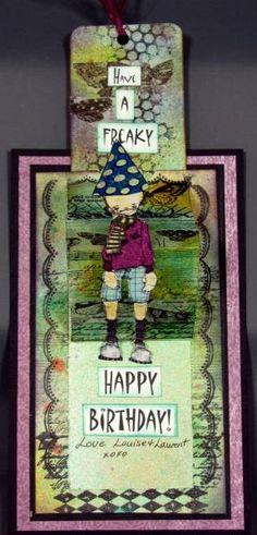Pop-up Card - Freaky Birthday