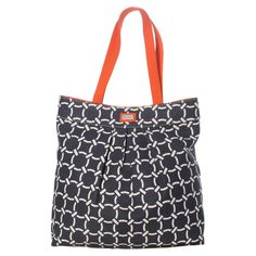 Citrus Pleated Tote