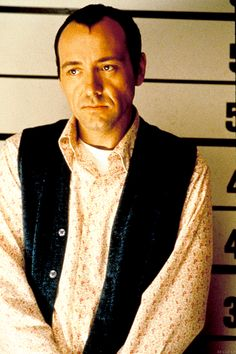 """A man can convince anyone he's somebody else, but never himself."" Kevin Spacey in The Usual Suspects (1995)."