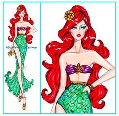 Hayden William's - Disney Divas - Ariel
