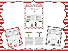 George Washington and Abraham Lincoln Fluency and Fact Sorting Sheets - Freebie for President's Day