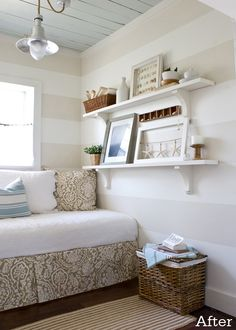 Reading Nook - Lettered Cottage...idea for the guest room?