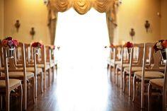 Rose Aisle Arrangements by Blue Bouquet, www.bluebouquet.com