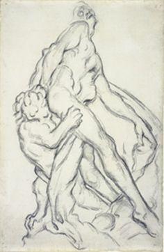 paul cezanne sketches | Paul Cezanne Drawing
