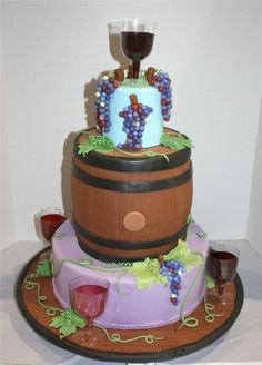 From Vine to Wine By CookieSue on CakeCentral.com