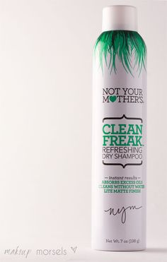 Makeup Morsels review on Not Your Mother's Clean Freak Dry Shampoo